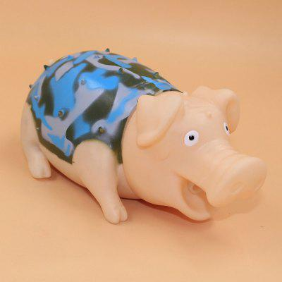 G731 Camouflage Screech Pig Vent Toy for White-collarWorker