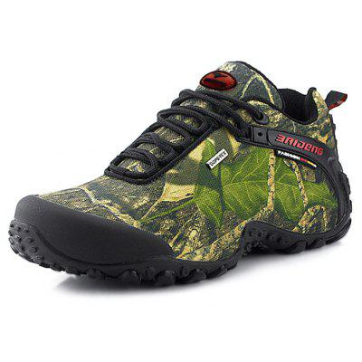 BAIDENG Male Outdoor Camouflage Hiking Athletic Shoes