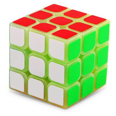 57mm Luminous ABS Puzzle Toy Magic Cube 3 x 3 x 3