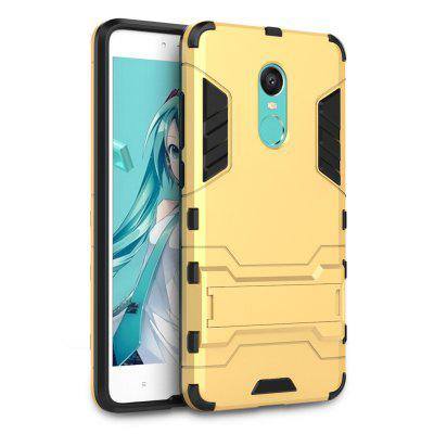Luanke Drop-proof Phone Stand Back Case for Xiaomi Redmi Note 4XCases &amp; Leather<br>Luanke Drop-proof Phone Stand Back Case for Xiaomi Redmi Note 4X<br><br>Brand: Luanke<br>Features: Anti-knock, Back Cover, Cases with Stand, Dirt-resistant<br>Mainly Compatible with: Xiaomi<br>Material: TPU, PC<br>Package Contents: 1 x Case<br>Package size (L x W x H): 16.80 x 9.30 x 2.00 cm / 6.61 x 3.66 x 0.79 inches<br>Package weight: 0.0430 kg<br>Product Size(L x W x H): 15.80 x 8.30 x 1.00 cm / 6.22 x 3.27 x 0.39 inches<br>Product weight: 0.0390 kg<br>Style: Modern
