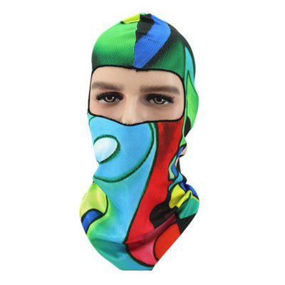 3D Outdoor Breathable Cycling Face Animal Pattern Full Cover Protective Mask Headwear
