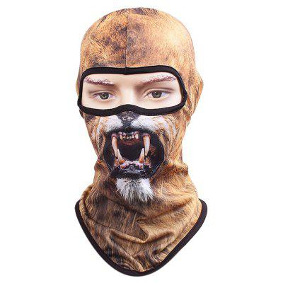Buy COLORMIX STYLE7 Cycling Face Animal Pattern Full Cover Protective Mask for $3.39 in GearBest store