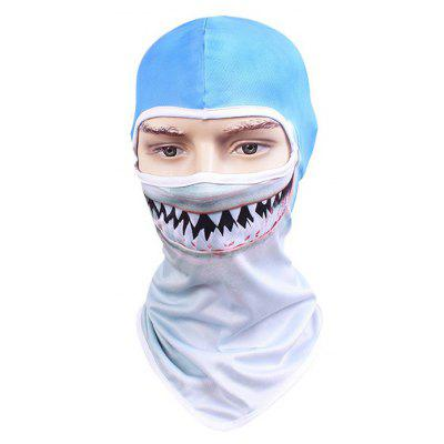 Outdoor Breathable Cycling Face Animal Pattern Full Cover Protective Mask Headwear