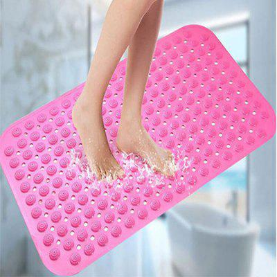 1PC Non-slip Elastic PVC Material Doormat Bathroom Floor Bath Mat