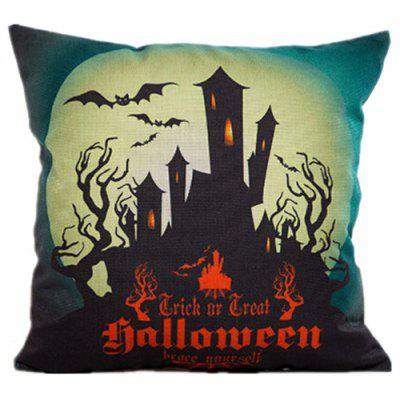 Cuscino Decorativo in Cotone Hallowmas Retro Pillowcase