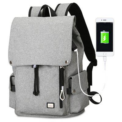 Buy GRAY MARK RYDEN Men Fashion Laptop Backpack with USB Port for $39.75 in GearBest store