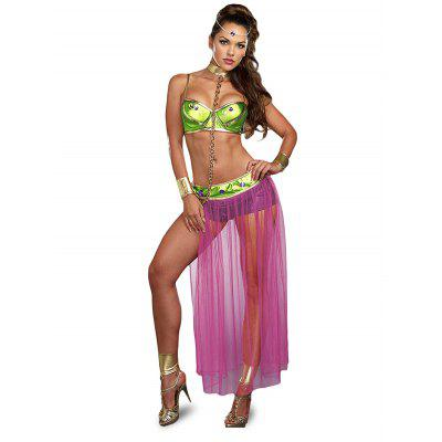 Halloween Arab Style Princess Belly Costume