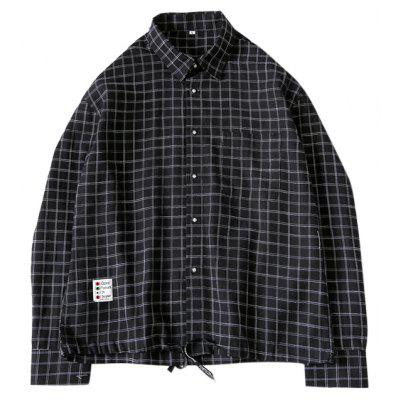 Casual Regular Fit Checked Shirt