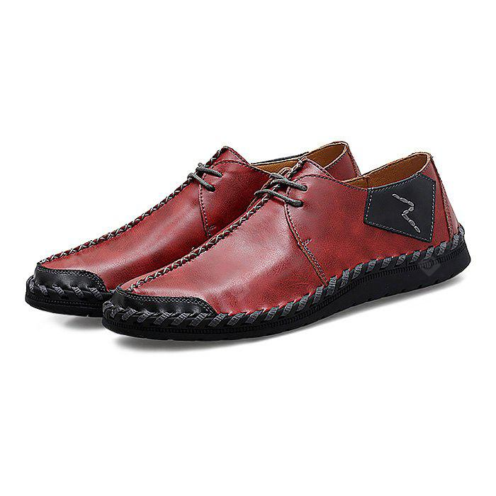 reliable how much cheap online Male Casual Soft Stitching Slip On Oxford Shoes lowest price 100% original sale online 100% authentic cheap price jDznu