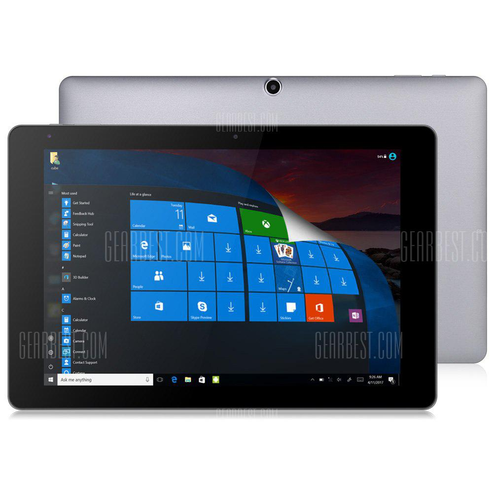 CHUWI HI10 PLUS CWI527 Windows 10 + Android 5.1 Tablet PC - BLACK AND GREY EU PLUG (entrepôt EU-6)