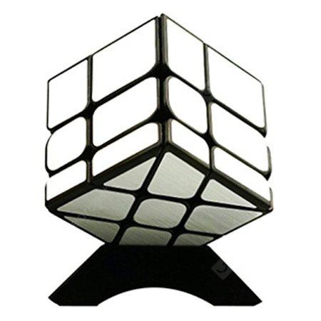 Buy 57mm Puzzle Magic Cube Shaped Fire Wheel 3 x SILVER