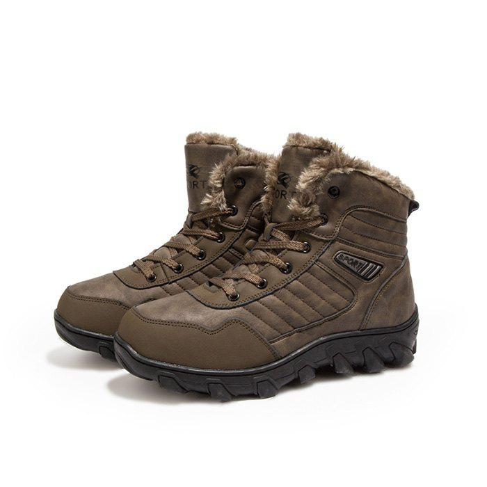 outlet 2014 unisex Male Outdoor Thickened Warm Hiking Ankle Boots free shipping under $60 outlet cost official cheap online T4NKMpwov