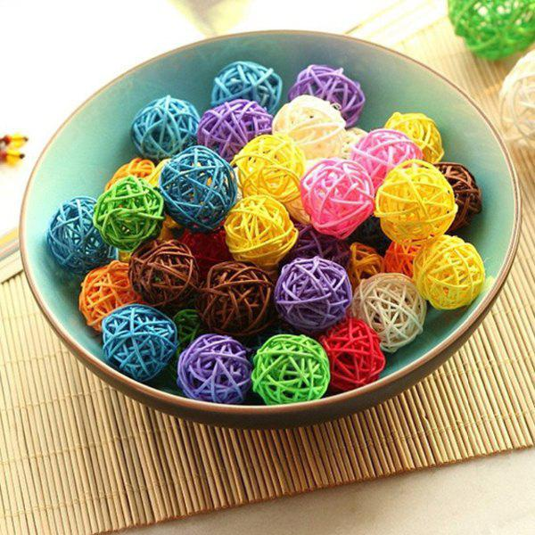 20pcs Ornaments Rattan Balls for Birthday Party Festival