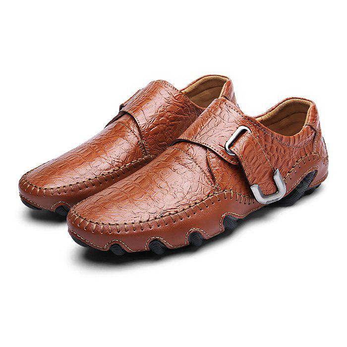 Masculino Stylish Manual Octopus Soled Casual Oxford Shoes