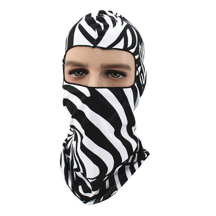 3D Cycling Face Animal Pattern Full Cover Protective Mask