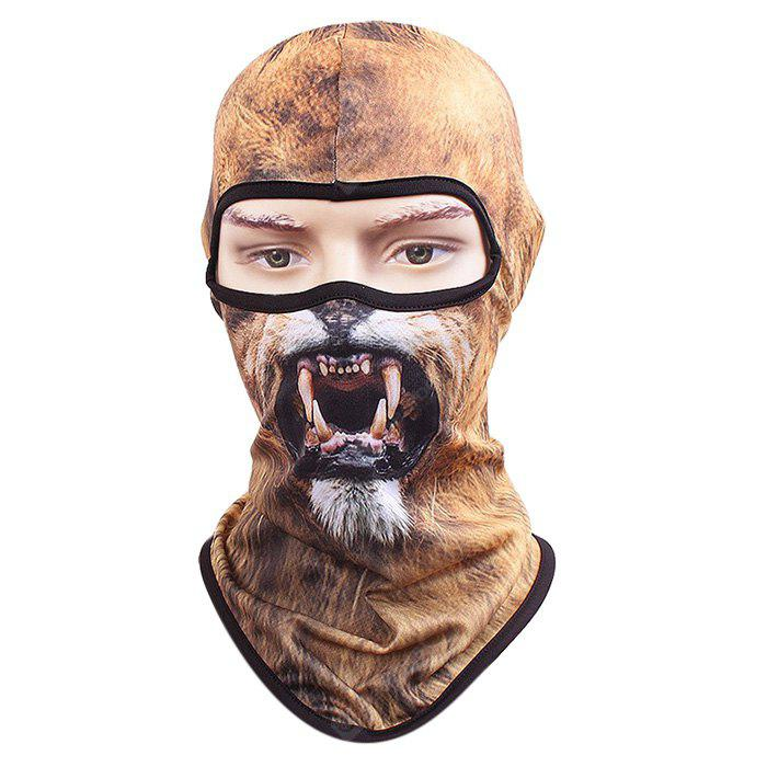 Cycling Face Animal Pattern Full Cover Protective Mask