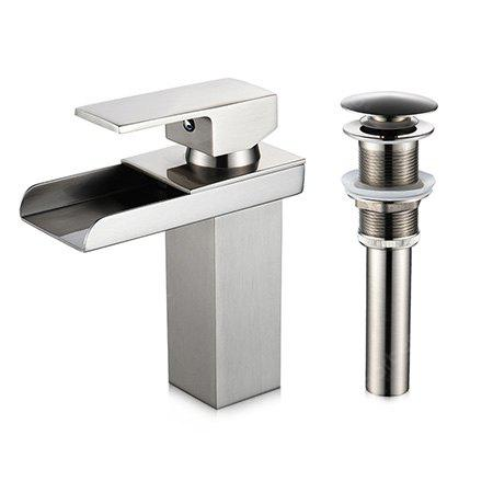 LING HAO HL - 838 Short Waterfall Basin Faucet