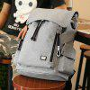 MARK RYDEN Men Fashion Laptop Backpack with USB Port - GRAY