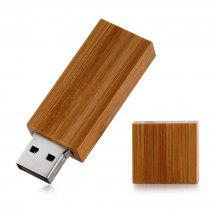 ZP USB 2.0 Wood Material 8GB USB Flash Disk
