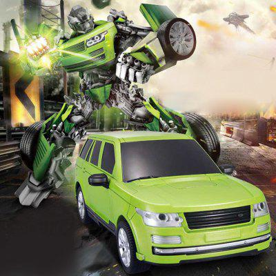JIAQI - TT651 RC Transforming Robot Car Model