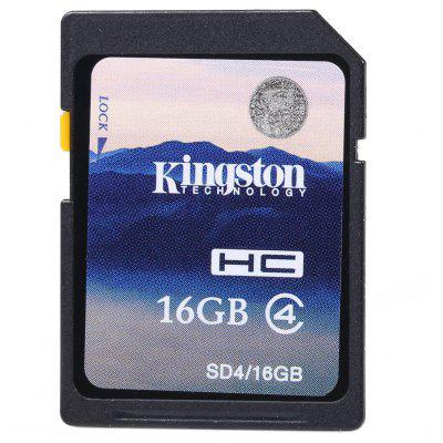 Kingston High Capacity 16GB Class 4 SDHC SD Memory Card Support FAT32 File Format
