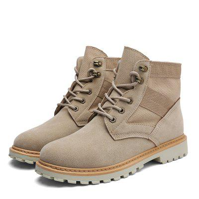 Fashion Microfiber Leisure Boots for Men