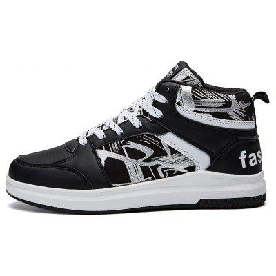 High Top Casual Skateboarding Shoes for Men