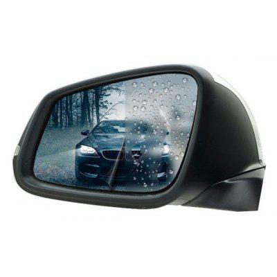 Pair of Car Anti Water Mist Film Spray Anti-glare Rearview Mirror Protective Film for SUV
