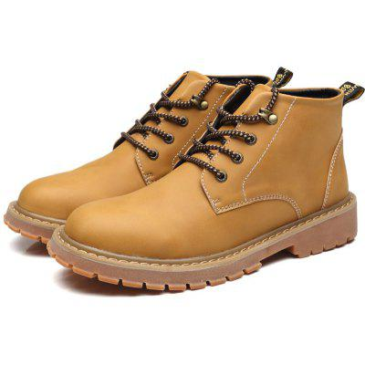 Trendy Slip Resistant Leisure Boots for Men