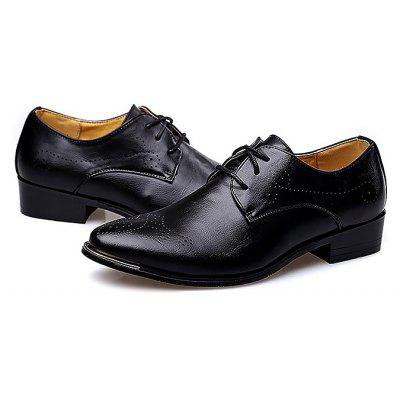 Buy BLACK Male Breathable Soft Slinky Casual Oxford Shoes for $46.89 in GearBest store