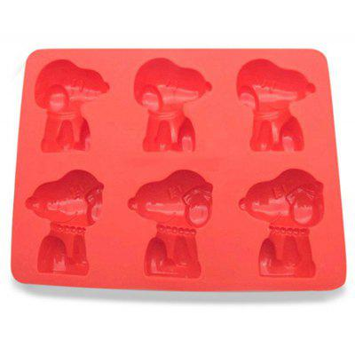 Cartoon Shape Cupcake Biscuit Silicone Mold for Home Use