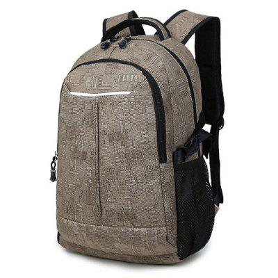 Men Leisure Printed Laptop Backpack