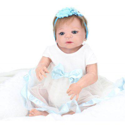 Realistic Simulation Closed Eyes Baby Doll