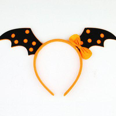 Cute Pumpkin Headbands Kids Festival Decorative Headdress