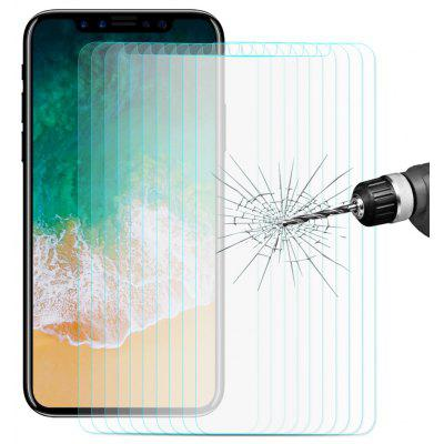 Ultra-thin Tempered Glass for iPhone X - 10PCS
