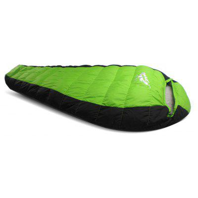 Duck Down Mummy Sleeping Bag for Outdoor Camping