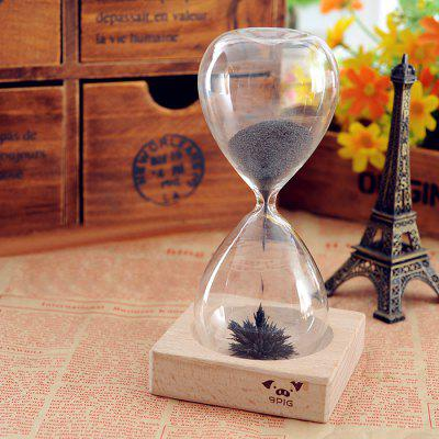 Magnet Flower Bloom Hourglass IQ Training Beautiful Decoration Toy