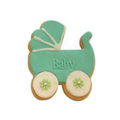 Food Grade Material Baby Carriage Shape Biscuit Mold