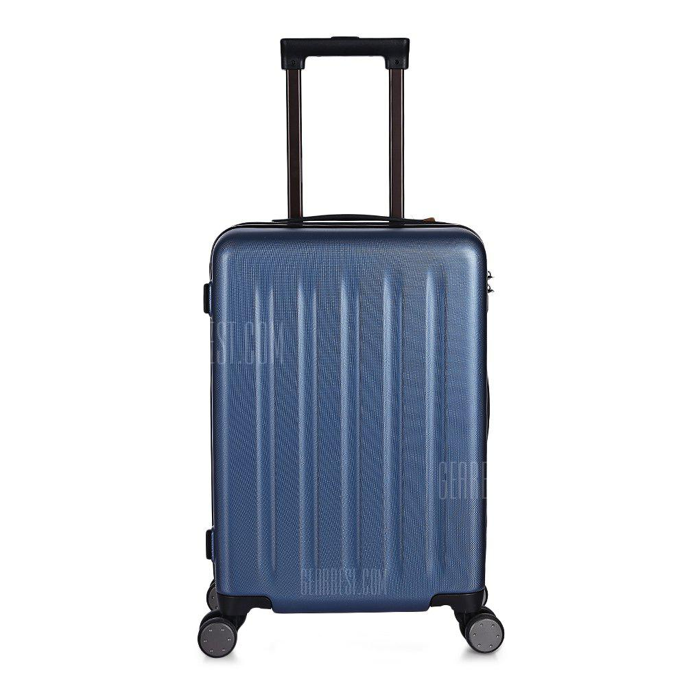 Original Xiaomi 90 Minutes Spinner Wheel Luggage Suitcase - BLUE 24 INCH