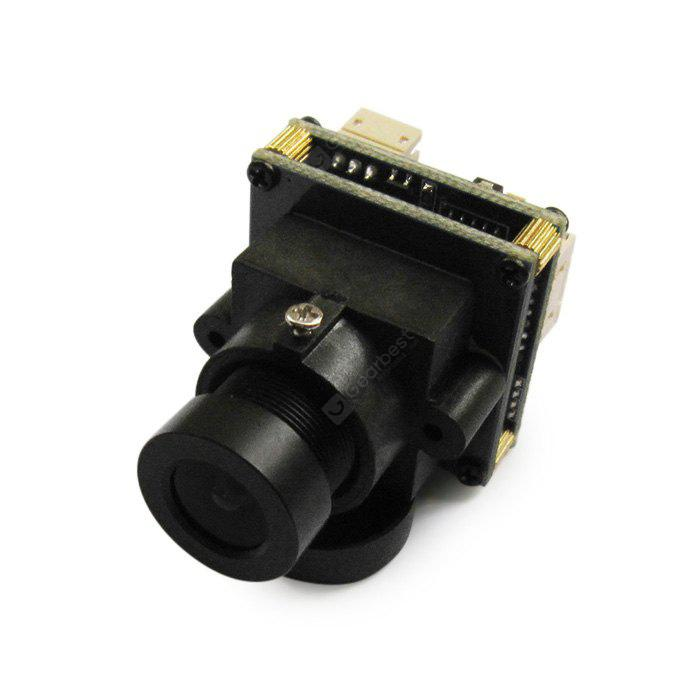 Spare EFFIO - 673 700TVL HD 2.1mm Lens Camera Helicopter QAV250 210 RC Multicopter FPV Project - NTSC Format - BLACK