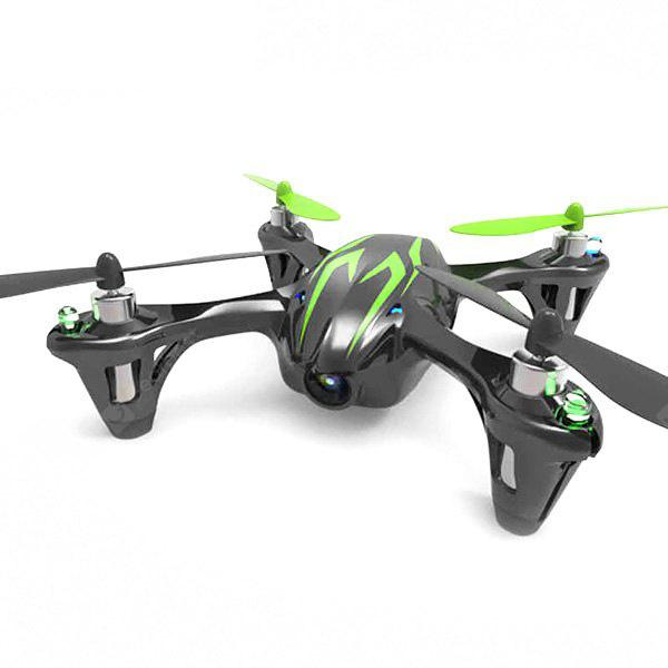 Hubsan x4 H107C RC Quadcopter 2.4GHz 6 Eksenli Gyro 4 CH 3D Uçuş İle 0.3MP HD Video Kayıtlı