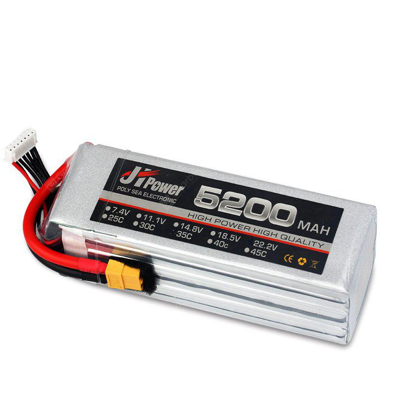JHPOWER 11.1V 5200mAh 35C XT60 Plug Lithium Polymer Battery