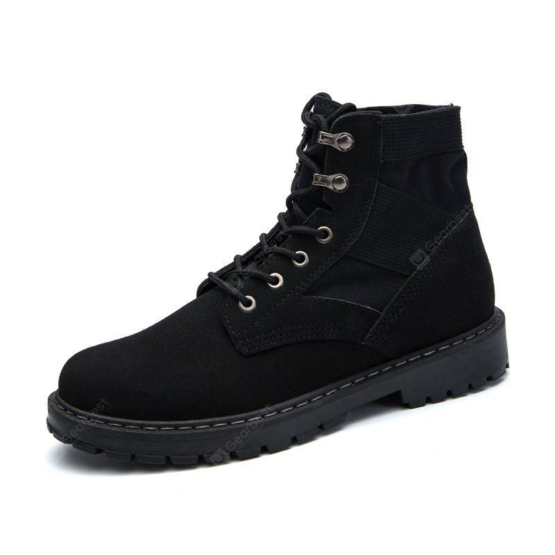 Men British Style Wearable Classis Slip Resistant Martin Boots