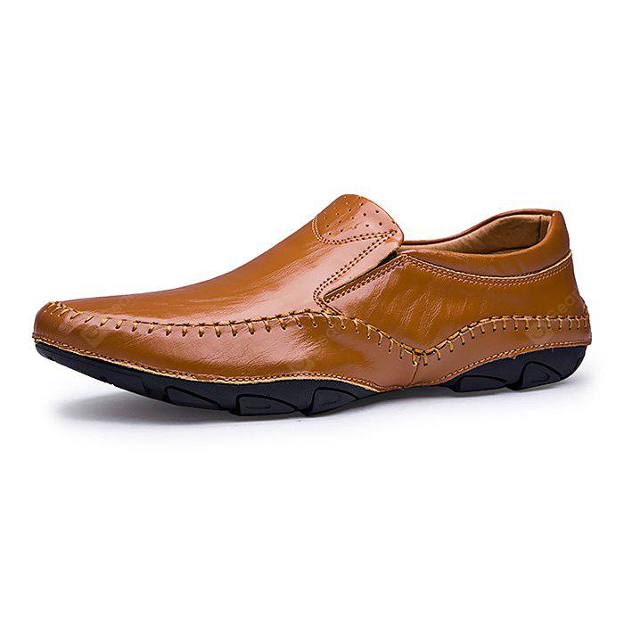 Male Thin Light Octopus Soled Stitching Casual Oxford Shoes