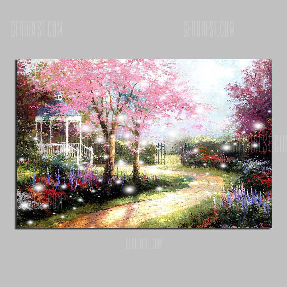 HuaTuo Modern Colorful  Landscape Hand Painted Oil Painting