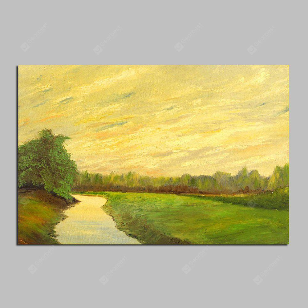 HuaTuo Modern Pastoral Scenery Hand Painted Oil Painting