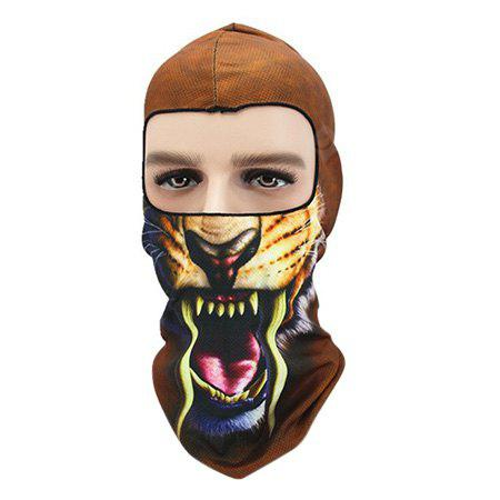 Cycling Wind Proof Animal Pattern Full Cover Protective Mask