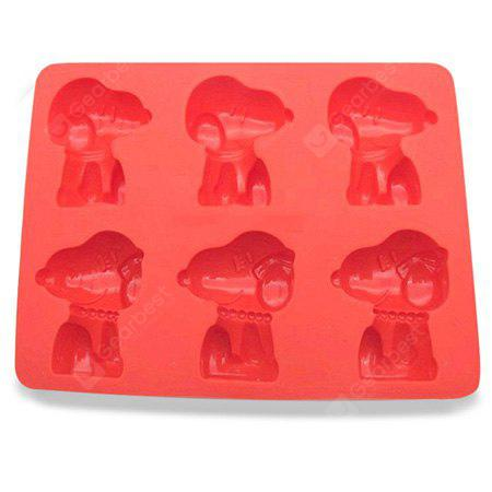 Cartoon Shape Cupcake Biscuit Silicone Mold