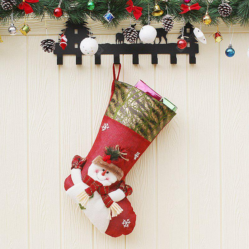 Snowman Style Stocking Sock for Christmas