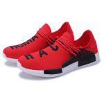 Plus Size Slip-on Athletic Shoes for Men - RED